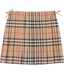 burberry beige skirt