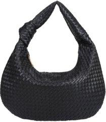 melie bianco women's brigitte large hobo bag