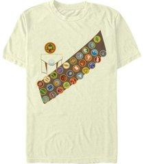 disney pixar men's up russell costume short sleeve t-shirt