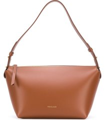 frenzlauer structured tote bag - brown
