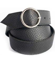 cinturón  negro la vie est belts isabella vii