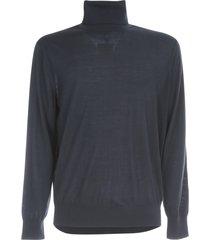 z zegna high neck merino wool sweater