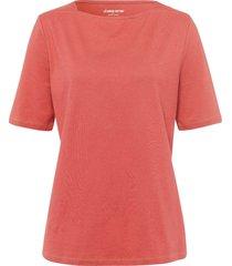 shirt 100% katoen boothals van green cotton rood