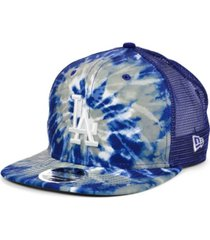 new era los angeles dodgers tie dye mesh back 9fifty cap