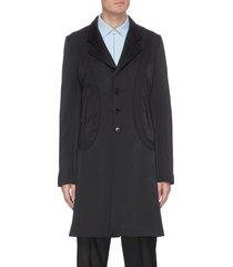 lasso long blazer coat