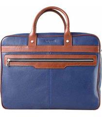 maletín azul briganti jones