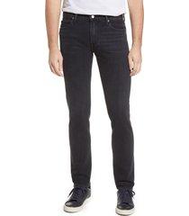 men's kato the pen slim fit jeans, size 34 x 34 - black