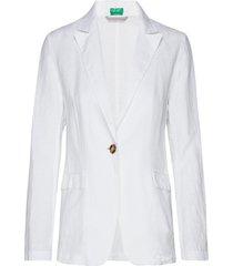 jacket blazer kavaj vit united colors of benetton