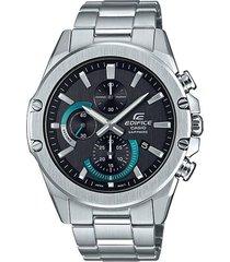 reloj casio efr-s567d-1avudf plateado acero inoxidable