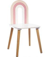 krzesło dziecięce dla dzieci rainbow rose