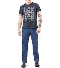 camiseta lee malha 5006l manga curta masculina - masculino