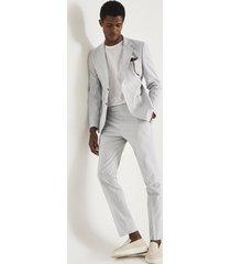 reiss splash - seersucker tailored pants in, mens, size 38