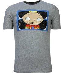stewie home alone - t-shirt