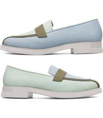 camper twins, scarpe basse donna, verde/blu, misura 42 (eu), k200857-001