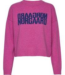 recy soft knit tilvina sweat-shirt trui roze mads nørgaard