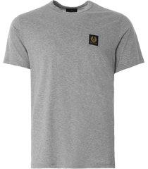belstaff short-sleeved t-shirt   grey   71140305-90015