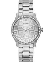 reloj guess g check gw0292l1 - plateado