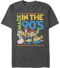 disney pixar men's toy story made in the 90's, short sleeve t-shirt