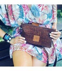torba mili corco bag - rudy brąz