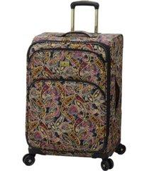 "london fog cranford 25"" spinner suitcase"