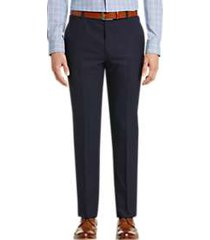 joe joseph abboud navy slim fit dress pants