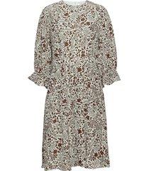 day vida knälång klänning multi/mönstrad day birger et mikkelsen
