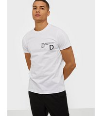 diesel t-hover t-shirt t-shirts & linnen white