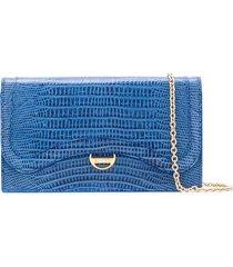 emilio pucci leather wallet - blue