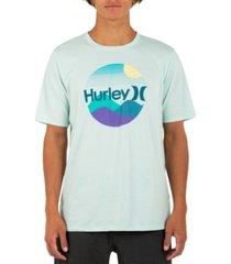 hurley men's sunscape 5 short sleeve t-shirt