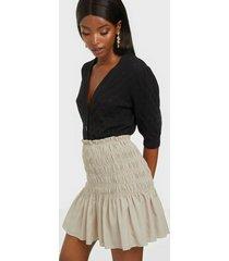 neo noir ginger skirt minikjolar
