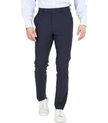 bar iii men's solid skinny fit wrinkle-resistant wool suit separate pant, created for macy's