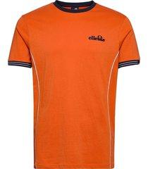 el terracotta tee t-shirts short-sleeved orange ellesse