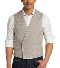 joseph abboud taupe modern fit suit separates vest