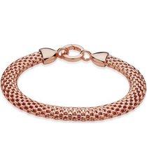 rose gold doina wide chain bracelet