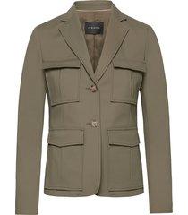 ciana blazer blazer colbert groen andiata