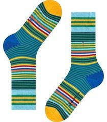 burlington socks stripe socks | green multi | 21057-7391