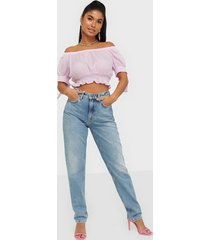 nudie jeans breezy britt light desert straight