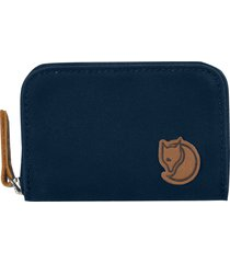 men's fjallraven zip card case - blue