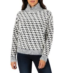 women's kut from the kloth evea cowl neck sweater, size x-small - black