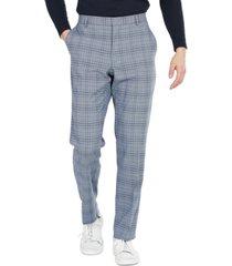 tommy hilfiger men's modern-fit flex stretch plaid suit pants