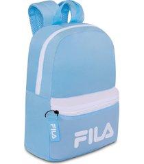 mochila fila new azul para mujer croydon
