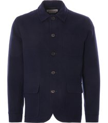 oliver spencer cowboy jacket buttress | navy | osmj291d-nvy