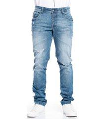 jean skinny azul medio