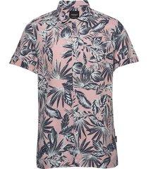 edit cabana s/s shirt kortärmad skjorta multi/mönstrad superdry