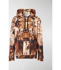 burberry submarine print hoodie