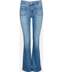 bootcut winnie jeans - blå