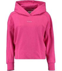 oversized hoodie roze