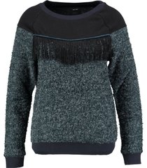 only blauwe sweater trui