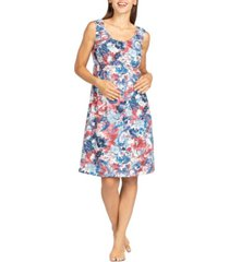 savi mom cassidy maternity & nursing lounge dress nightgown, online only