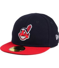 new era cleveland indians authentic collection my first cap, baby boys